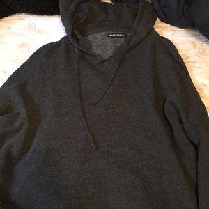 Brandy Melville Sweaters - SUPER CUTE GRAY BRANDY SWEATSHIRT